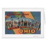 Cincinnati, Ohio - escenas grandes 2 de la letra Tarjeta De Felicitación