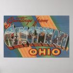 Cincinnati, Ohio - escenas grandes de la letra Posters