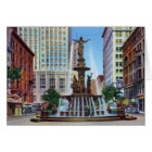 Cincinnati Ohio Fountain Square Card