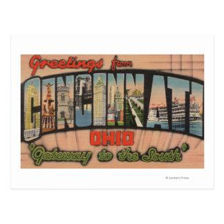 Cincinnati, Ohio (Gateway to the South) Postcard