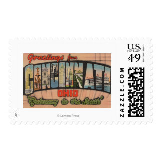 Cincinnati, Ohio (Gateway to the South) Stamp