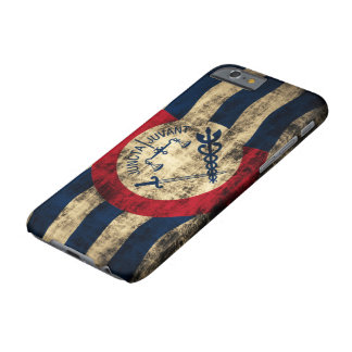 Cincinnati Ohio Grunge Flag Barely There iPhone 6 Case