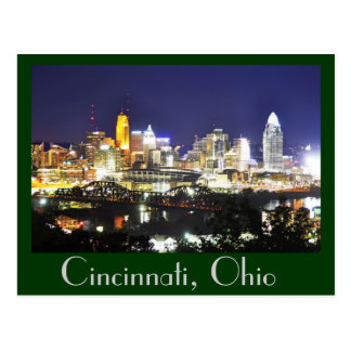 Cincinnati, Ohio, la ciudad de la reina Postales
