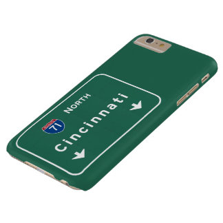 Cincinnati Ohio oh Interstate Highway Freeway : Barely There iPhone 6 Plus Case