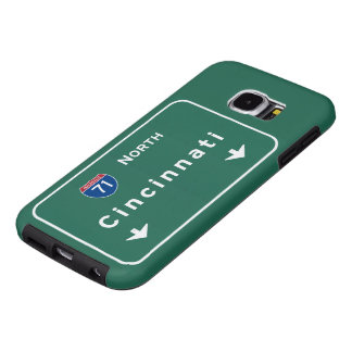 Cincinnati Ohio oh Interstate Highway Freeway : Samsung Galaxy S6 Case