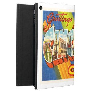 Cincinnati Ohio OH Old Vintage Travel Souvenir iPad Air Case