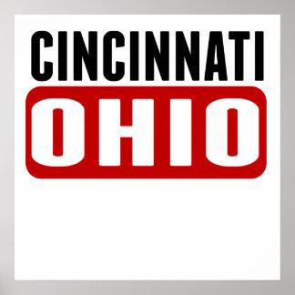 Cincinnati Ohio Poster