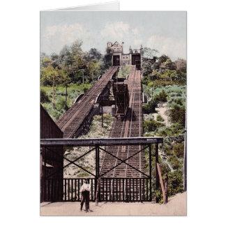 Cincinnati Ohio Price's Hill Incline Greeting Card