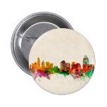 Cincinnati Ohio Skyline Cityscape 2 Inch Round Button