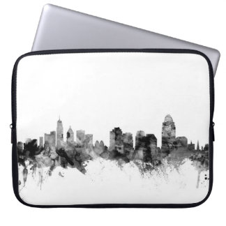 Cincinnati Ohio Skyline Laptop Computer Sleeves