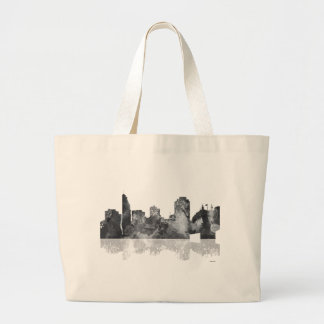 Cincinnati, Ohio Skyline Large Tote Bag
