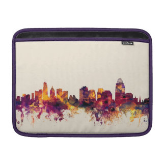 Cincinnati Ohio Skyline MacBook Air Sleeve