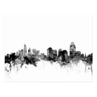 Cincinnati Ohio Skyline Postcard
