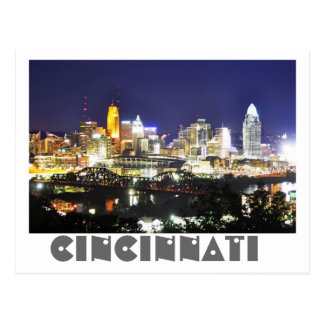 Cincinnati, Ohio, the Queen City. Postcard