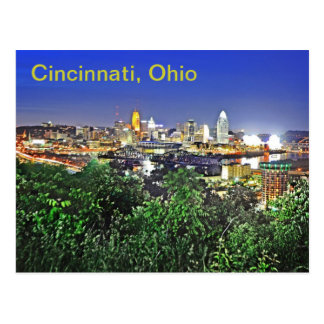 Cincinnati, Ohio, U.S.A. Postcard