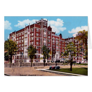 Cincinnati Ohio Vernon Manor Hotel Greeting Card