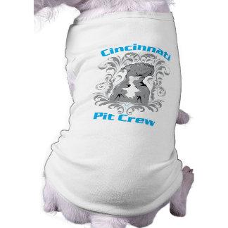 Cincinnati Pit Crew - Doggie T-Shirt
