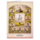 Cincinnati Red Stockings of 1869 Card