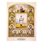 Cincinnati Red Stockings of 1869 Postcard