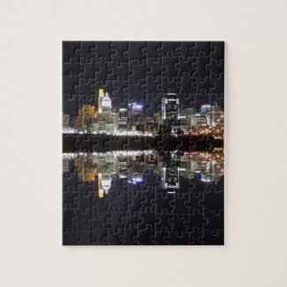 Cincinnati Reflection Jigsaw Puzzle
