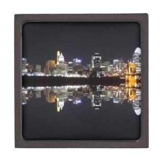 Cincinnati Reflection Keepsake Box