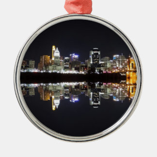 Cincinnati Reflection Metal Ornament