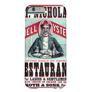 Cincinnati Restaurant Ad 1873 Barely There iPhone 6 Case