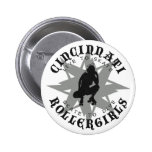 Cincinnati Rollergirls Button