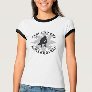 Cincinnati Rollergirls Ringer T-Shirt