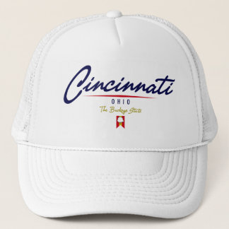 Cincinnati Script Trucker Hat