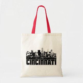 Cincinnati Skyline Budget Tote Bag
