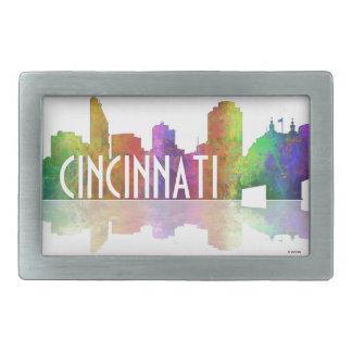 Cincinnati Skyline Belt Buckles
