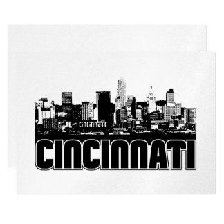 Cincinnati Skyline Card