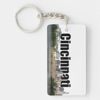 Cincinnati Skyline Keychain