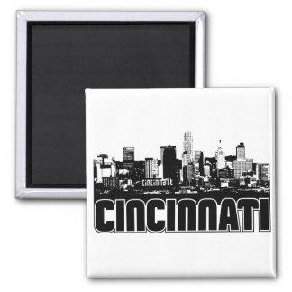 Cincinnati Skyline Magnets