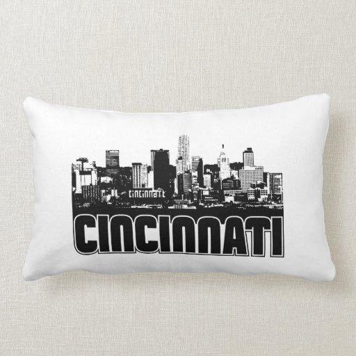 Cincinnati Skyline Pillow