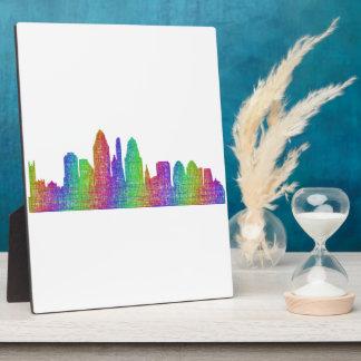 Cincinnati skyline plaque