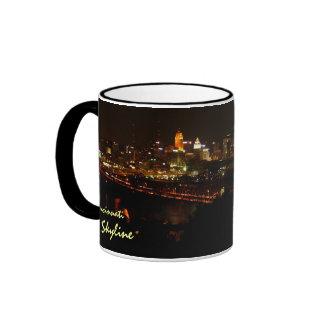 Cincinnati Skyline Ringer Mug