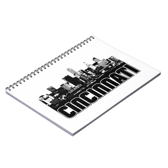 Cincinnati Skyline Spiral Notebook