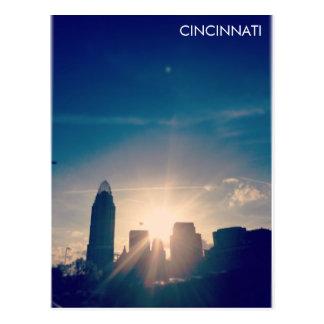 Cincinnati Skyline V1 Postcard