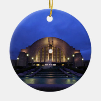Cincinnati Union Terminal Ceramic Ornament
