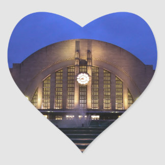 Cincinnati Union Terminal Heart Sticker