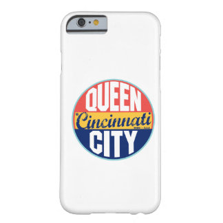 Cincinnati Vintage Label Barely There iPhone 6 Case