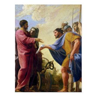 Cincinnatus Returning to his Plough Postcard