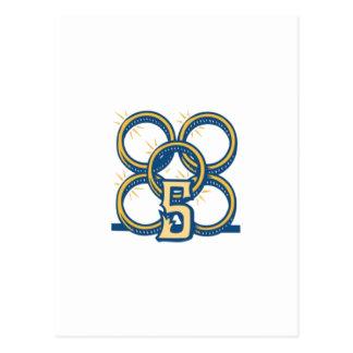 ¡Cinco anillos de oro Postales