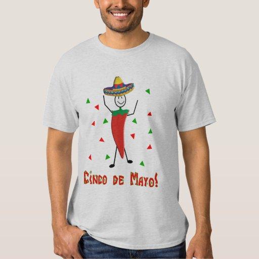 """""""Cinco cal del de Mayo feliz"""", Tequila y diseño de Playera"""