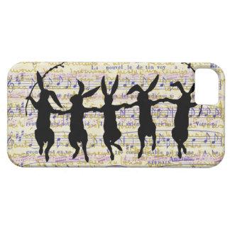 Cinco caso de baile del iPhone 5 de los conejitos iPhone 5 Case-Mate Cobertura