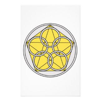 Cinco círculo Star1 Papeleria