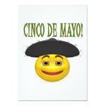 Cinco De Mayo 5x7 Paper Invitation Card