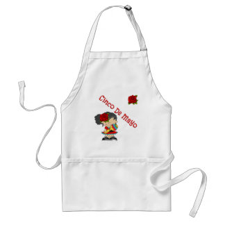 Cinco De Mayo Adult Apron